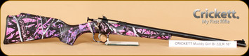 "Crickett - 22LR - Muddy Girl Synthetic/Blued, 16""Barrel"
