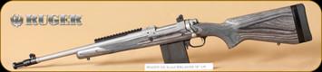 "Ruger - 5.56NATO/223Rem - M77 - Scout, BlkLamSS, 16"", LH - Left Hand"