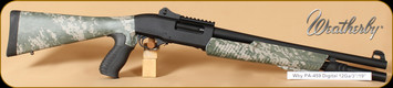 "Weatherby - PA 459 TR - 12Ga/18.5"" - 8-shot Reaper, Digital Camo, matte"