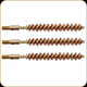 Tipton - Rifle Bore Brush 35 Cal & 9mm - Bronze - Package of 3 - 244560