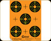 "Caldwell - Orange Peel Bullseye 2"" - 10 Sheets - 181062"
