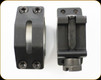 WEAVER - FITS PICATINNY RAIL - TACTICAL - 30MM Extra HIGH - 4 HOLE RINGS