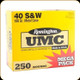 Remington - 40 S&W - 180 Gr - UMC Mega Pack - Full Metal Jacket - 250ct