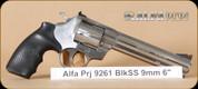 """Alfa Proj - 9mm - 9261 - BlkSyn/SS, 6"""""""