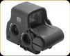 EOTech - Holographic Weapon Sight - 68 MOA Ring w/ 1 MOA Dot Ret - Night Vision Compatible -  Single QD Lever - Matte - Single CR123 Battery - EXPS3-0