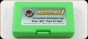 Redding - Competition Shellholder Set - Size # 1 - 11601
