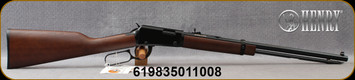 """Henry - 22LR - Lever Action Octagon - Lever Action Rimfire Rifle - American Walnut Stock/Blued Finish, 20""""Octagon Barrel, 16 Round Capacity, Mfg# H001T - Stock Image"""