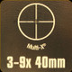Bushnell - Legend Ultra HD - 3-9x40mm - Multi-X - Bonus Targets, Sling and Rings