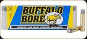 Buffalo Bore - 460 S&W - 360 Gr - Hard Case LBT Lead Flat Nose - 20ct - 26B