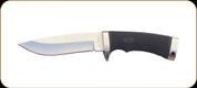 "Katz Knives - Lion King Series - Lion Cub Fixed Blade - Kraton Handle - 5.13"" Blade - W/Brown Leather Sheath"