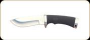 "Katz Knives - Wild Kat Series - Fixed Blade - Kraton Handle - 4.63"" Blade - W/Brown Leather Sheath"