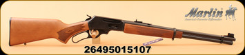 """Marlin - 30-30Win - 336W - Lever Action Rifle, Laminate Stock/Matte Blued, 20"""" Micro-Groove rifled barrel, 6 Round tubular magazine"""