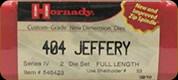 Hornady - Full Length Dies - 404 Jeffery - 546423