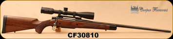"Used - Cooper - 7mmSTW - Model 52 Custom Classic - AAA Claro Walnut/Blued, 26""Barrel, c/w Swarovski - Z5 - 3.5-18x44 - BT - 4W, 142pcs Primed Brass, 44pcs Unprimed Brass, FL Die Set"