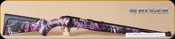 """Ruger - 22LR - American - Compact, Muddy Girl Bl, 18"""""""