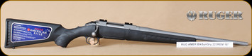 """Ruger - 223Rem - American - Compact, BlkSyn/SS, 18"""""""