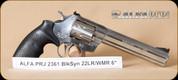 "Alfa Proj - 2361 - 22LR/22WMR - BlkSynSS, 6"""