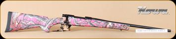 "Howa - 243Win - 1500 - Foxy Woods, PinkCamo/Bl, 22"", Nikko Stirling 3.5-10x44 LRX"