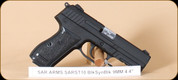 """SAR Arms - 9mm - ST10 - BlkSyn/Bl, 4.4"""", holster, 2 mags"""