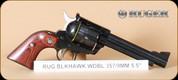 """Ruger - 357Mag/9mm - Blackhawk - Wd/Bl, 5.5"""", Mfg# 05246"""