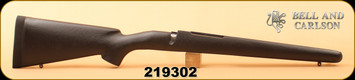 Bell and Carlson - Mauser 98 - Sporter Style with Checkering - LA - Black with Black Web