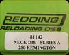Redding - Neck Sizing Die - 280 Remington - 81142