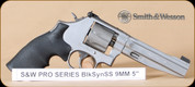 Smith&Wesson - 9mm - Model 986 - Performance Center, BlkSynSS, Titanium fluted cylinder, 5""