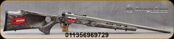 """Savage - 17WSM - B. Mag Target - Bolt Action - Laminate thumbhole Stock/Stainless, 22""""Heavy Barrel, Accutrigger  - Mfg# 96972"""