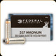 Federal - 357 Mag - 180 Gr - Power-Shok - Jacketed Hollow Point - 20ct