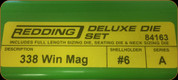 Redding - Deluxe Die Set - 338 Winchester Mag - 84163