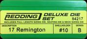 Redding - Deluxe Die Set - 17 Remington - 84217