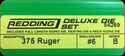 Redding - Deluxe Die Set - 375 Ruger - 84269