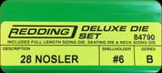 Redding - Deluxe Die Set - 28 Nosler - 84790