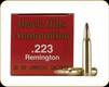Black Hills - 223 Rem - 36 Gr - Varmint Grenade - Hollow Point Flat Base - 50ct