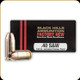 Black Hills - 40 S&W - 155 Gr - Jacketed Hollow Point - 20ct