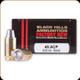 Black Hills - 45 ACP - 200 Gr - Match Semi-Wadcutter - 20ct