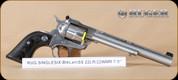 "Ruger - 22LR/WMR - Single Six Hunter - SS, 7.5"" - Mfg# 00662"