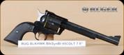 """Ruger  - 45LC - Blackhawk - Blk/Blued, 7.5"""" - Mfg# 00455"""