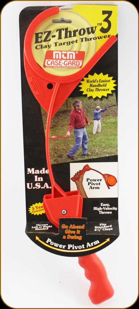 EZ THROW 3 CLAY PIGEON TARGET THROWER hand trap