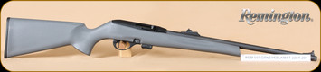 "Remington - 22LR - Model 597 - Gray Synthetic Stock/Matte Finish,  20"" Barrel, 10 Rounds, Mfg# 26550"