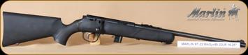 "Marlin - 22LR - XT-22 YR Youth - Bolt Action Rifle - Black Synthetic Stock/Blued Barrel, 16.25"" Barrel, 7 Rounds, Mfg# 70691"