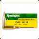 Remington - 243 Win - 80 Gr -  High Performance Rifle - Pointed Soft Point - 20ct - 27800