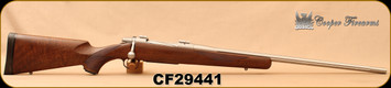 """Consign - Cooper - 6.5-06 - Model 52 Classic - Walnut Stock/Stainless Steel, 24""""Fluted Barrel, Fluted bolt, Low rounds fired"""