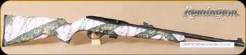 "Remington - 22LR - 597 - Semi Auto - Mossy Oak Pink Camo Synthetic/Matte Blued, Tru-Glo Fiber Optic sights, 20"", Mfg# 80854"