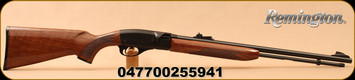 "Remington - 22LR - 552 BDL Deluxe Speedmaster - Semi Automatic Rifle - Walnut/Blued, 21""Barrel, Mfg# 25594"