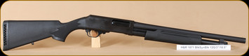 "Harrington & Richardson - 12Ga/3""/18.5"" - Pardner Pump - BlkSyn/MatteBlk, bead sight, cylinder choke"