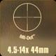 Bushnell - Legend Scope Combo - 4.5-14X44mm - Matte