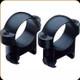 """Burris - Zee Rings - 1"""" High - Steel - Matte Black - 420087"""