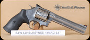"""Smith & Wesson - 44RemMag - Model 629 - Classic - BlkSynSS, 6.5"""" - 163638"""