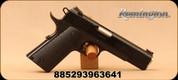 "Remington - 9mm - 1911 R1 Enhanced - Black Laminate Hardwood Grips/ 5"", Satin Black Oxide Finish - 9rd - Mfg# 96364"